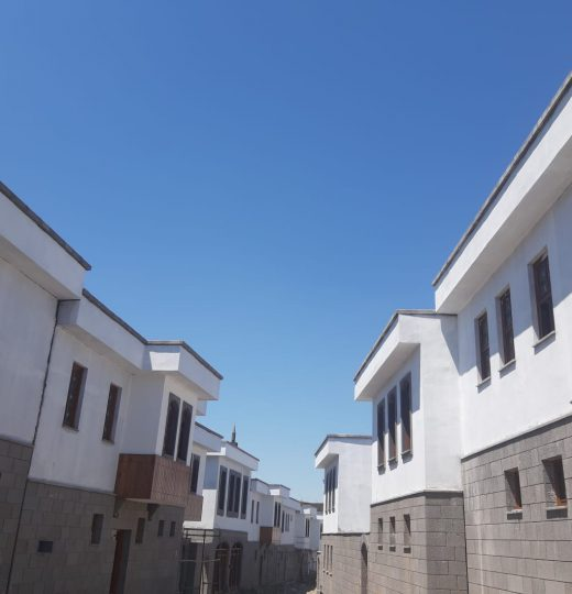 Construction of 76 Houses, 26 Trade Centers, Infrastructure and Landscape Works Located in Diyarbakır, Sur District